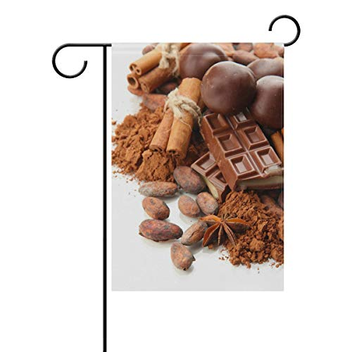 XiangHeFu Garden Flag Condiment Chocolade Snoepjes 12x18 Inches (12