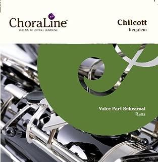 Chilcott Requiem BASS Rehearsal CD