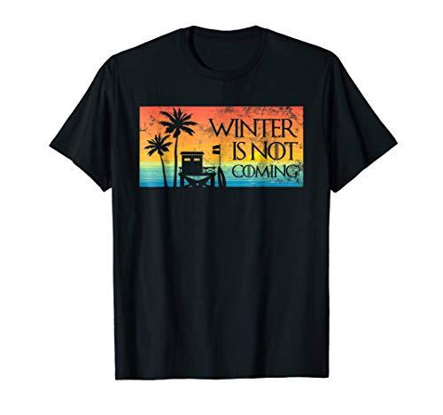 Winter Is Not Coming Florida Christmas Shirt