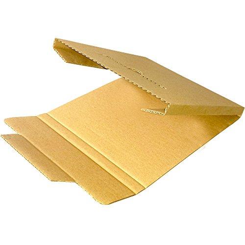 """Dimapax 200 scatole in cartone rigido per spedire dischi in vinile (capienza 1 disco 12"""")"""