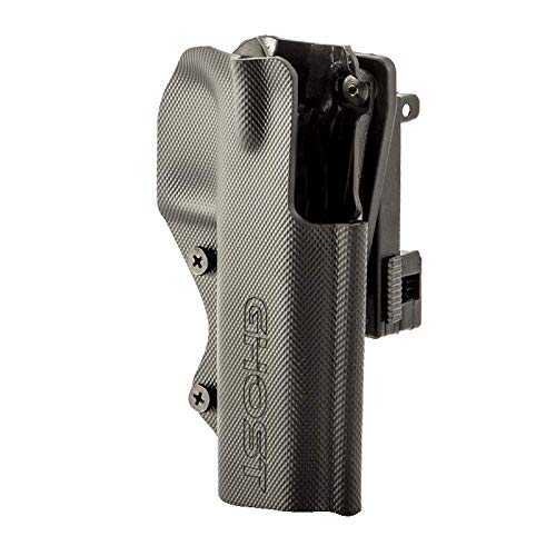 Ghost – Civilian 3G Holster for Concealed Carry – Both for Police, Military as Well for Sport (IDPA, IPSC and Action Shooting) with Opening Clip (CZ Shadow 2 Right)
