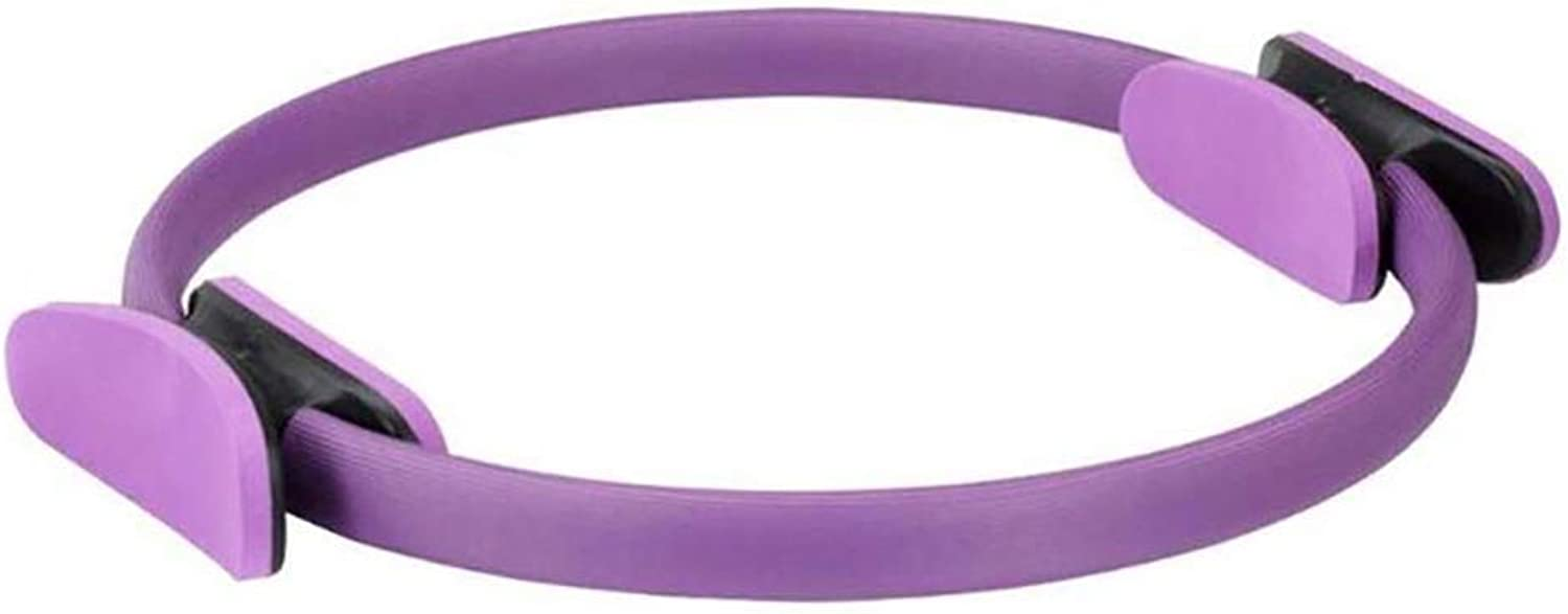 Yoga Magic Circle,Pilates Ring Durable PP Dual Grip for Muscles Body Exercise Fitness Shaping, for Women & Men