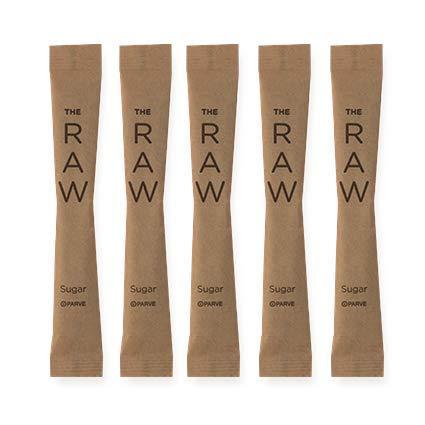 SUGART - THE RAW SUGAR - 500 Individual Serving Stick Packets - U Parve/Kosher