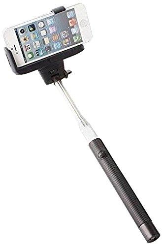KHOMO Selfie Sticks, Bluetooth-luidsprekers, luiken, statieven en meer. Smartphones Zwart