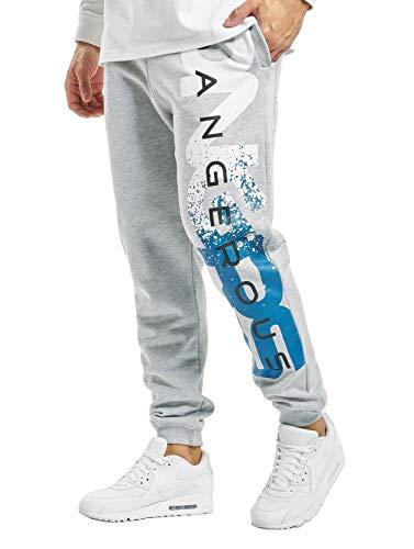 EGOMAXX DNGRS Herren Jogginghose Baggy Sweat Pants Hyena Sporthose, Farben:Grau, Größe Hosen:3XL