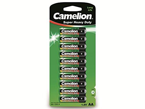 CAMELION - R6C/10 10001006 Super Heavy Duty Batterien R6 Mignon/ 10er Pack 145252