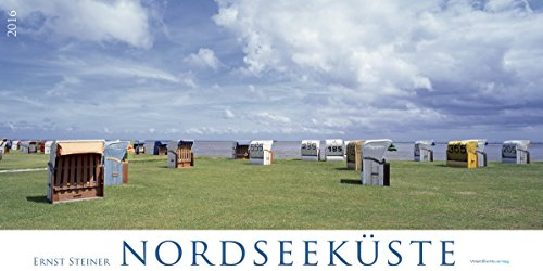Kalender Nordsee 2016: Die schönsten Nordseeimpressionen im Panoramaformat (Panoramakalender)