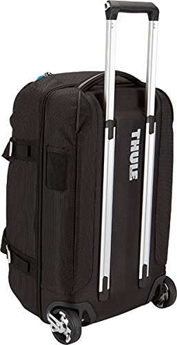 Thule TCRD1 Crossover Rolling Duffel Bag - Black