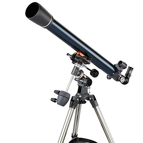 Hd Telescopio Astronómico Refracción Duradera Soporte