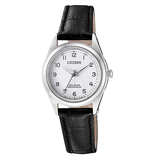 Citizen dames analoog zonne-horloge met lederen armband ES4030-17A
