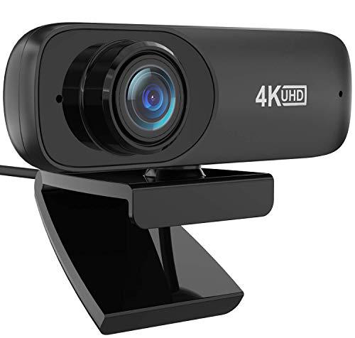 Webcam 4K, Automatic Facial Beautificati...
