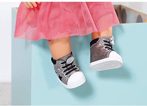 BABY Born Zapf – 826997 Trend Sneakers – für Markenspielpuppen 43cm (Stile variieren, EIN Paar Wird geliefert)