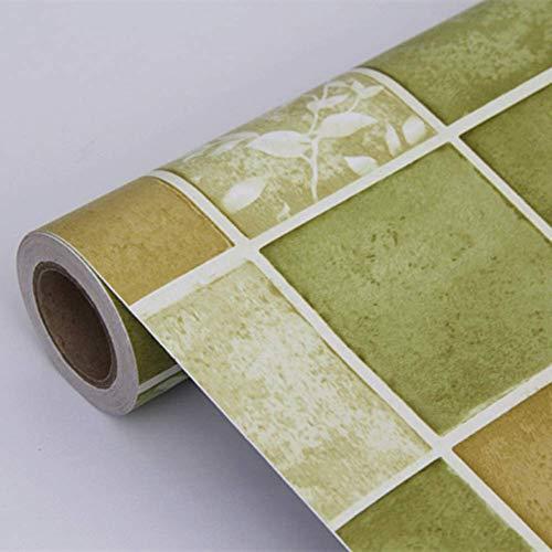 WYYAF Marmor Kontaktpapier Küche Wohnzimmer selbstklebendes Vinyl ölbeständige Badezimmertapete Granit wasserdicht dekoratives Marmorpapier-Q 60x500cm (24x197inch)