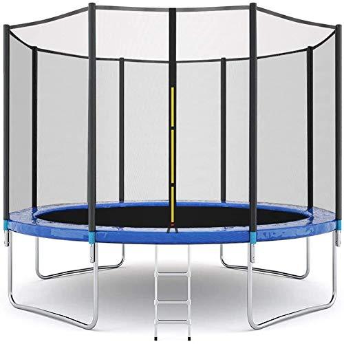 12 FT Trampoline voor kinderen Peuter en Volwassenen met Enclosure net en Polen Veiligheid Pad Ladder Jumping Mat Binnen Buiten Yard Patio Springen Trampoline Kids Oefening Trampoline met Pad Outdoor