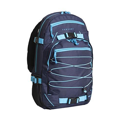 FORVERT Backpack Ice Louis, Blau(Navy Blue), 50.5 x 26.5 x 12 cm, 19.5 Liter, 880229
