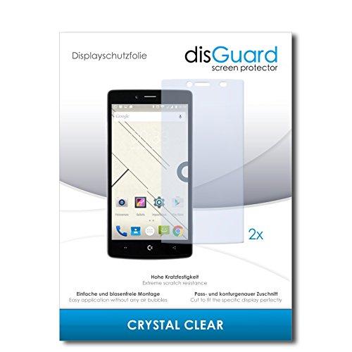 disGuard® Bildschirmschutzfolie [Crystal Clear] kompatibel mit Commodore PET [2 Stück] Kristallklar, Transparent, Unsichtbar, Extrem Kratzfest, Anti-Fingerabdruck - Panzerglas Folie, Schutzfolie