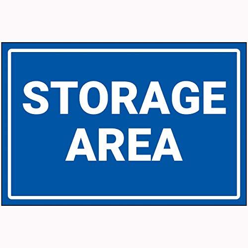 Preisvergleich Produktbild V Safety 72119BF-P VSafety Storage Area Sign 400 mm x 300 mm Polycarbonat,  blau