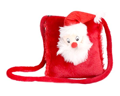 Tickles Red Santa Claus Sling Purse Bag Kids Christmas Gift Childrens Day 4 litres