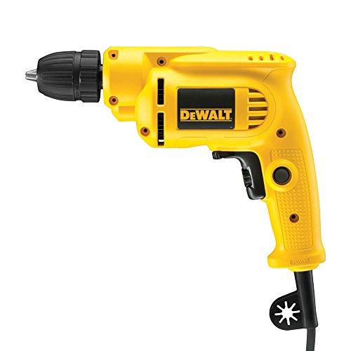 DeWalt 550 Watt boormachine (spanwijdte boorkop: 1,0-10 mm, max. draaimoment 7,9 Nm, max. Boor-ø 25 mm (hout), 10 mm (metaal)) DWD221