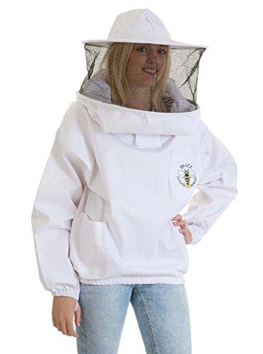 Veste apiculteur avec chapeau rond toutes tailles - XL