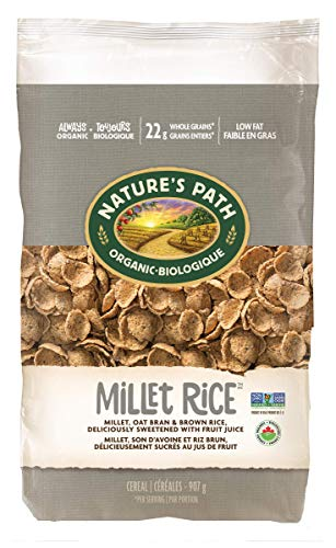 Nature's Path Millet Rice Sweetened with Fruit Juice, Healthy, Organic, Gluten-Free, 32 Ounce (Pack of 6)