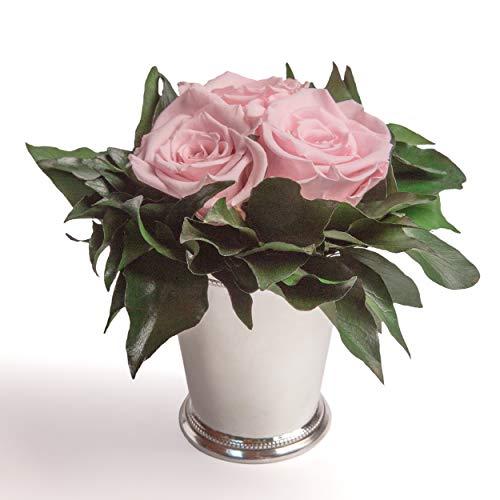 Composition Bouquet Roses Eternelles 3 Roses Conservées Durée de vie 3 ans ROSEMARIE SCHULZ® (Rose)