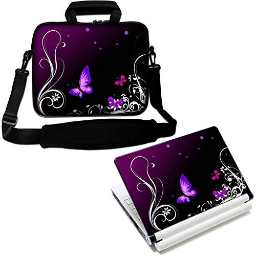 LUXBURG 15' Inch Design Laptop Notebook Sleeve Soft Case Bag With Handle and Shoulder Strap Plus Free Vinyl Decal! For Apple, Acer, Asus, Chromebook, Dell, HP, Lenovo Samsung Sony Toshiba etc
