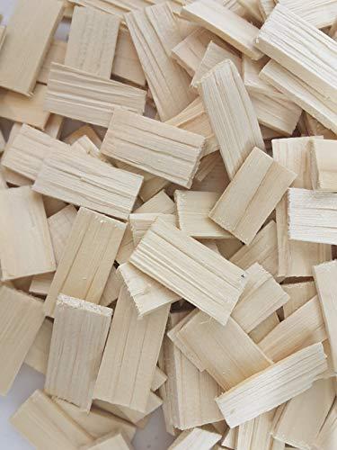 Boemaus500 180 Stück Braune Schindeln zum Krippenbau und Modellbau EIN Naturprodukt aus Fichtenholz Zubehör zum Krippen Bauen