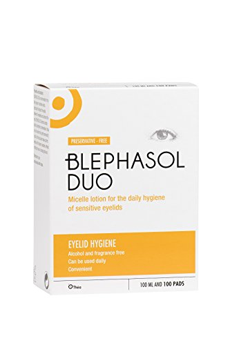 Blephasol Duo Eye Hygiene Lotion   (100ml + 100 Pads) by Scope