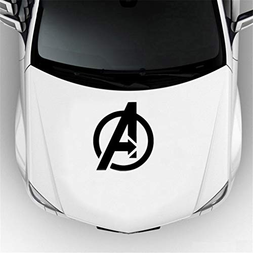 Pegatinas Coche Car Styling Avengers Marvel Comics Superhero Decal Jdm Sticker Car Window Accesorios decorativos