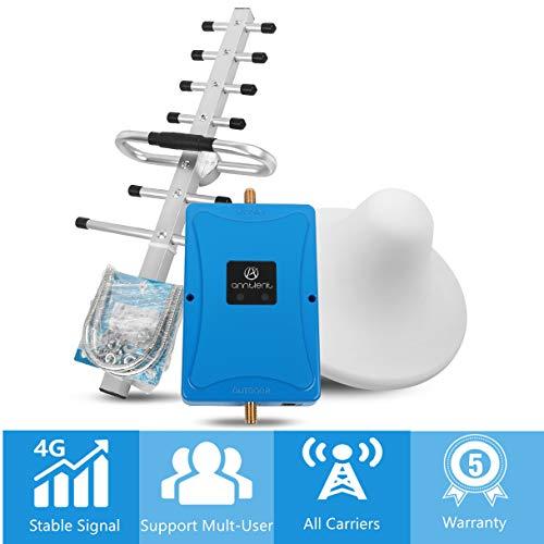 ANNTLENT Handy Signalverstärker 800/2600MHz Band 20 Band 7 LTE Repeater Signal Booster Verstärken 4g LTE Netzwerkdaten für Haus, Büro