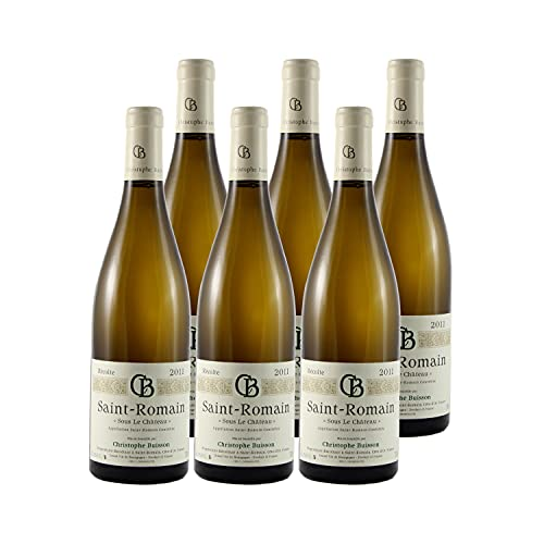 Saint-Romain Sous le Château Weißwein 2011 - Domaine Christophe Buisson - g.U. - Burgund Frankreich - Rebsorte Chardonnay - 6x75cl