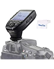 Godox Xpro-S TTL - Disparador inalámbrico de flash (2,4 G, 1/8000s HSS, compatible con cámaras Sony DLSR A77 II A77 A99 ILCE-6000L a9 A7R A7RIII a350 DSC-RX10)