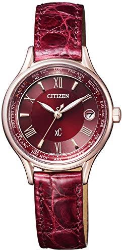 [シチズン] 腕時計 クロスシー EC1164-02W エコ・ドライブ 電波時計 Titania Line Happy Flight シリーズ レディース