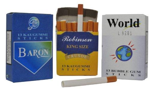 DOK Kaugummi Sticks mit Raucheffekt, 24er Pack (24 x 44 g)