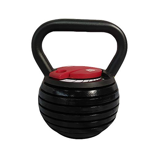 N/A Kettle Bells Weight Sets 20 Lbs 40lb Cast Iron Kettlebell Weight With Adjustable Switch,40BL