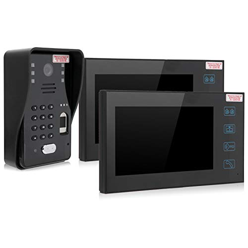 Monitor de teléfono de Puerta con visión Nocturna, para Cubierta Impermeable, para Apartamentos(European regulations)