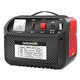 GREENCUT CRB300 - Cargador de batería de coche y moto multifunción de 12V/24V y 30A,...