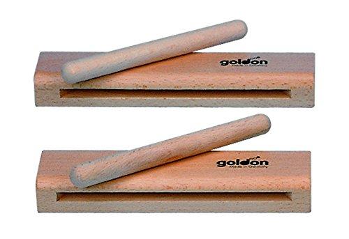 Goldon 33300 Holzblock mit Klöppel