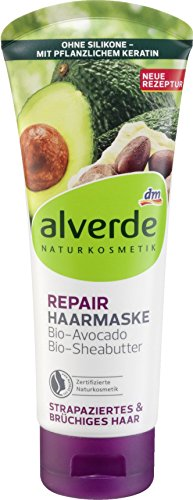 Alverde Repair Haarmaske Avocado and Sheabutter 100 ml
