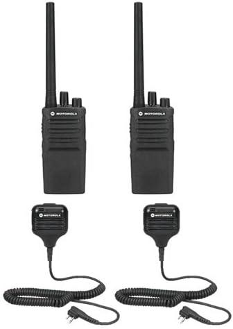 2 Pack Motorola RMV2080 Radios with Speaker Mics