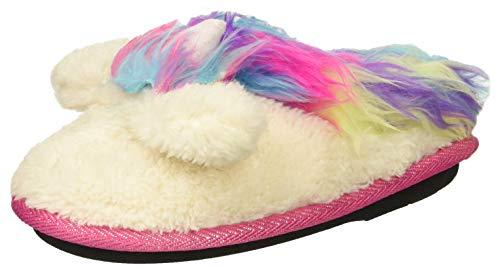 Dearfoams Girls' Kid's Whimsical Clog Slipper, Paradise Pink, 7-8 Toddler