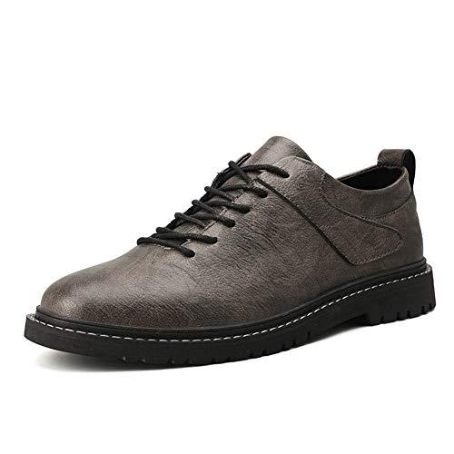 Oxfords halfhoge herenschoenen, voor mannen, werkschoenen, veterschoenen, zomer, ademend, casual, business, fietsen, dating, schoenen, klassiek, veganistisch, solide PU-leer, platte anti-slip Oxford-schoenen