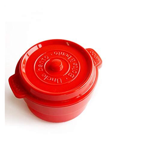 LTGABA De Doble Capa Caja de Almuerzo portátiles Cajas Bento PP Escuela Libre de Alimentos Oficina de contenedores de Almacenamiento con cucharas Compartimentos for microondas