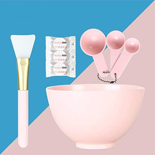 Outils De Beauté, Bricolage Masque Bol Ensemble Silicone Masque Brosse Mètre Compression Masque Maquillage Beauté Outils