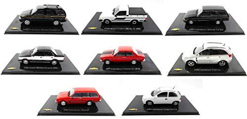 OPO 10 - Lotto di 8 Auto 1/43 Chevy Monza Captiva Marajo Chevette Corsa Blazer (CH: 54-55-62-63-65-67-68-70)