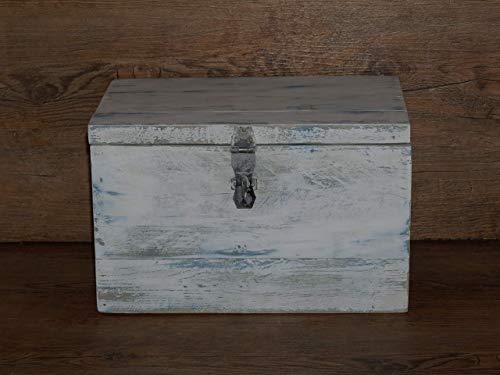 Holzkiste shabby shic - Schatulle - Holzschachtel