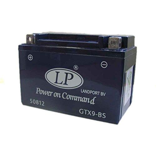 Landport YTX9-BS Motorrad-Gel-Batterie, 12V 8,0Ah, versiegelt