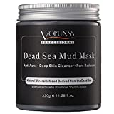 Natural Minerals Dead Sea Mud Mask for Face and Body - Deep Cleansing Face Mask for Acne Treatment, Blackheads Remover,Pore Minimizer,Anti-Aging & Oily Skin,Facial Masks for Women & Men - 11.28 fl.oz