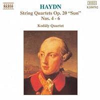 Haydn: String Quartets, Op. 20 Sun, Nos. 4-6 (1994-02-15)